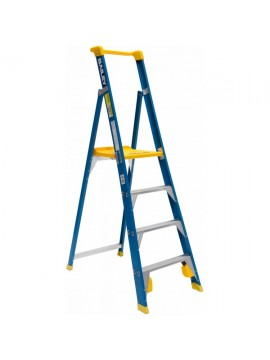 Fibreglass Platform Step Ladder  150Kg