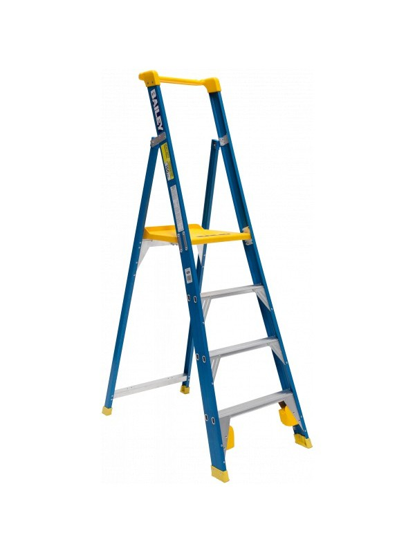 Fibreglass Platform Step Ladder  150Kg