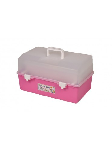Large Hobby Box with Lift Out Tray and 2 Compartment Boxes