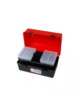 Tool Box Large with Lift Out Tray and 2 Compartment Boxes
