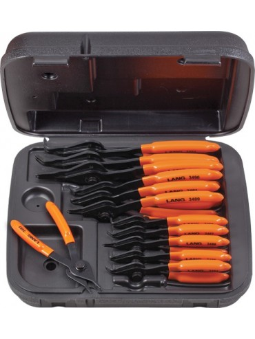 12 Piece Combo. Snap Ring Pliers Set