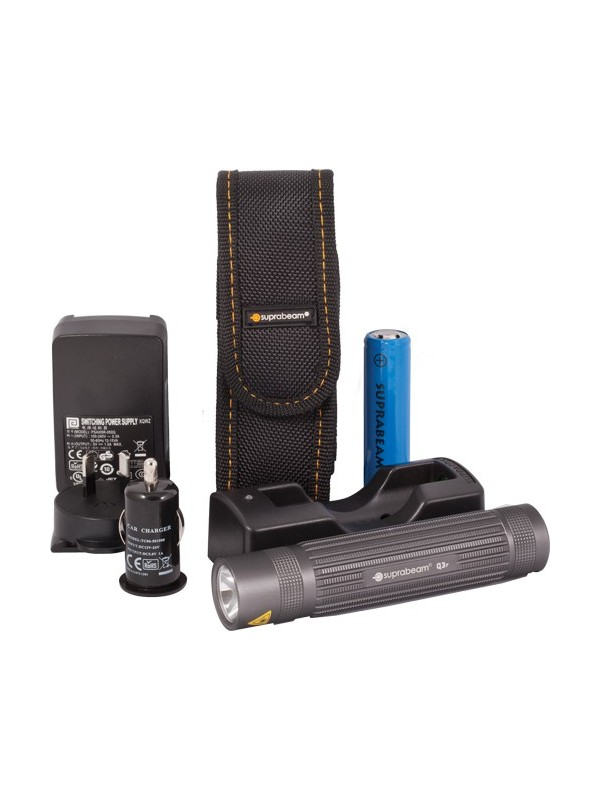 Rechargable Compact and Powerful Torch