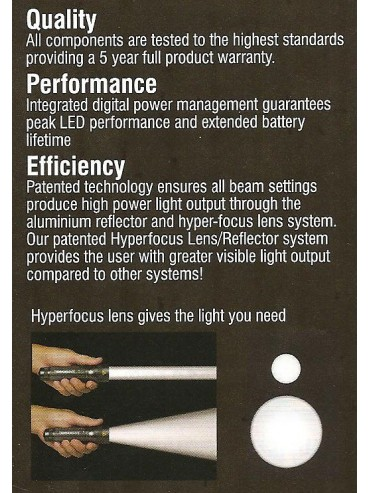 Rechargeable Extreeme Power Torch