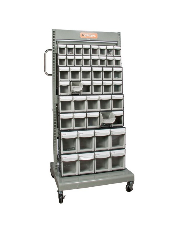 Mobile Tip Out Sorting Cart