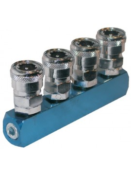 Four Way Inline Coupling