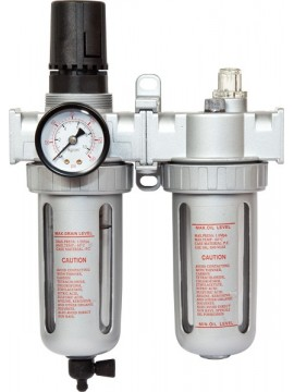 Air Filter Regulator and Lubricator 1/4""