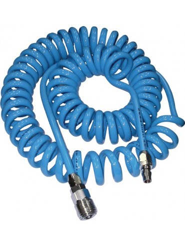 Recoil Air Hose With Fittings
