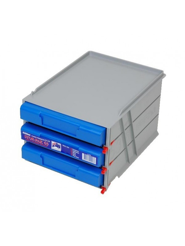 3 Drawer Unit - Stor-Pak Stackable