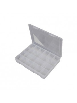 20 Compartment Extra Large Storage Box - Clear
