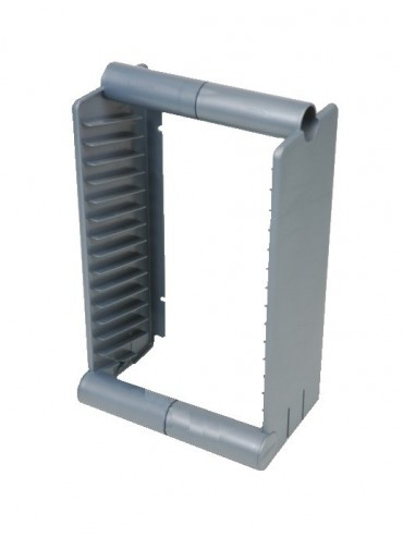 DVD Stands - Fits 15 DVDs - Stackable