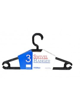 Plastic Swivel Hanger 3 Packs - 410mm