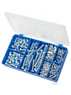 Mild Steel Zinc Plated Nuts and Bolts
