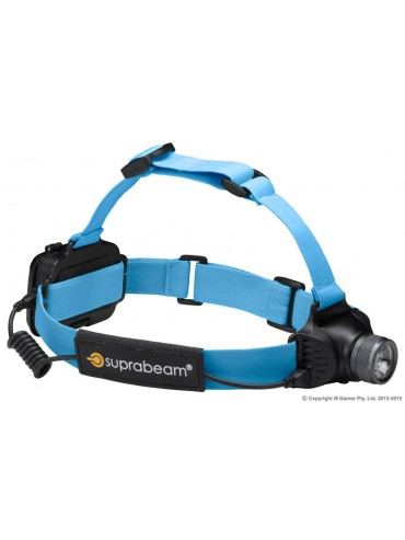 Suprabeam Head Mounted Light Weight Rechargeable Torch