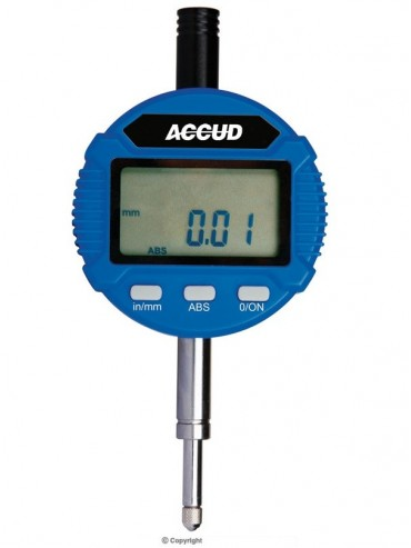 Accud Dual Scale Digital Indicator