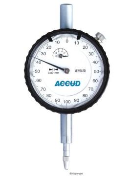Accud Metric Dial Indicator - Jeweled Bearing