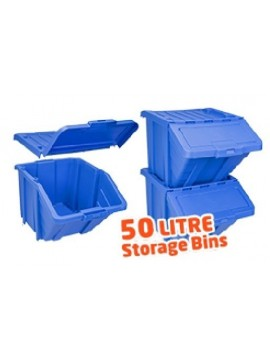 Jumbo Storage Bin with lid