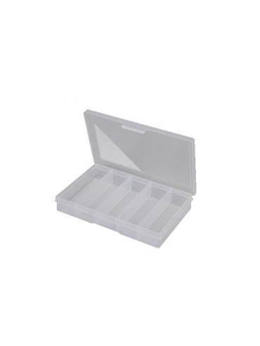 5 Compartment Clear Storage Box