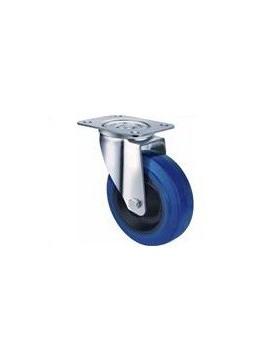 Industrial Blue Rubber - Swivel Plate