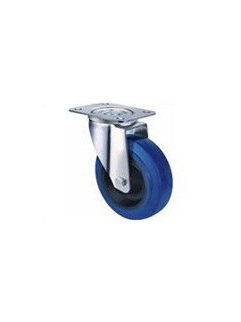 Industrial Blue Rubber - Swivel Plate