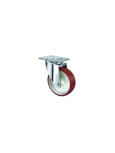 Industrial Urethane Bolt Swivel Plate 80mm