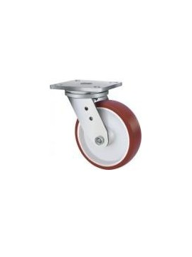 Heavy Duty Urethane Swivel Plate 125mm