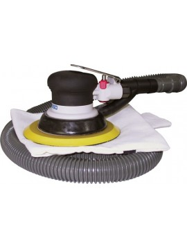 "Basso Orbital Air Sander 6"" Dust Free Type"