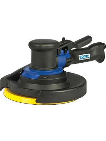 "Basso Orbital Air Sander 8"" Central Vac Type"