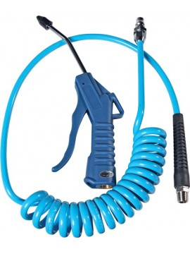 "4"" Air Duster and Hose With Fittings"