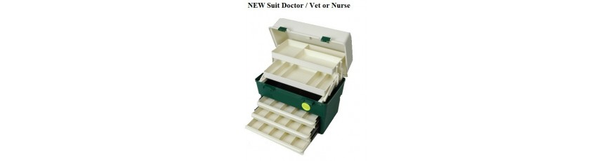 Fishing tackle boxes in mant configurations and sizes,