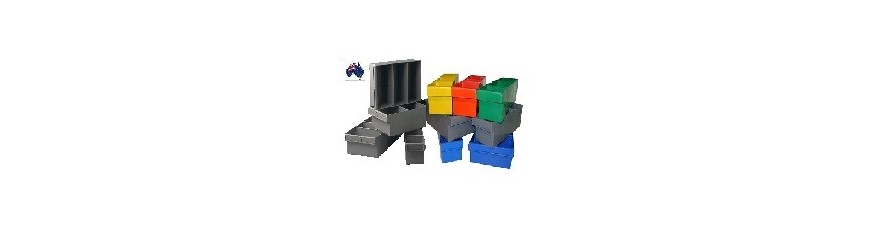 Spare Parts Trays in many colours and sizes